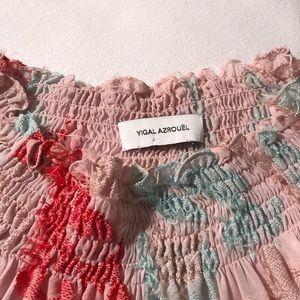 Yigal Azurouel Pink Long Sleeve Top